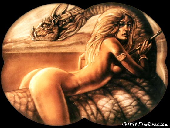 Fantasy erotic graphics
